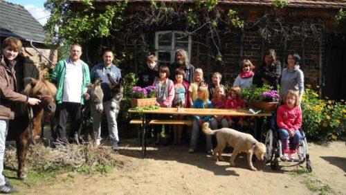 Natur entdecken mit der Familienhilfe Freeda im Spreewald