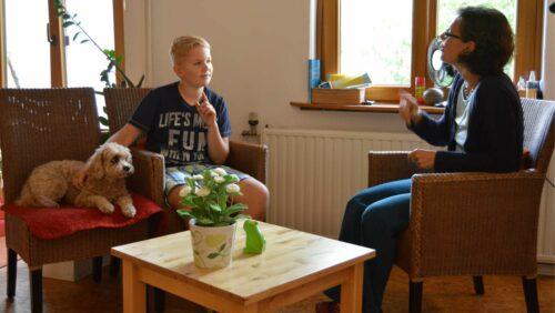 Spiel für Familien mit Gehörlosen - Verein Hand zu Hand