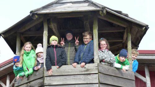 Ziegenalm - Freizeit fuer sehbehinderte Kinder