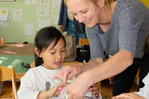 Musische Therapie Volkskindergarten - Kroschke Kinderstiftung
