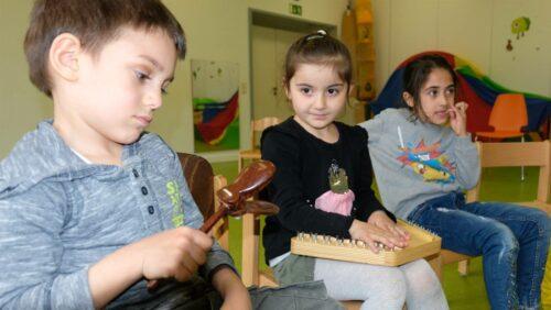 Durch Musik zur Sprache - Kita Siegmundstraße - Kroschke Kinderstiftung