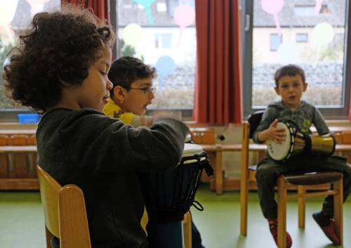 Durch Musik zur Sprache - Kita Siegmundstraße