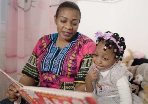 Seelisch gesund aufwachsen - fruehe Hilfen Vorlesen