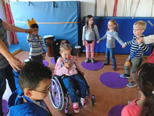 Musik schafft Lebensfreude und Miteinander - Kroschke Kinderstiftung