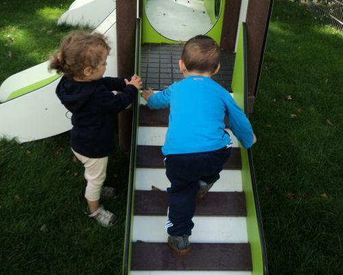 Kinderstiftung - Kletterturm Krippenkinder