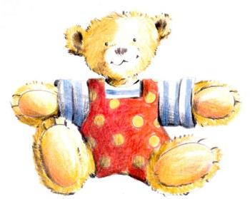 Kroschke Kinderstiftung Maskottchen Bärtram