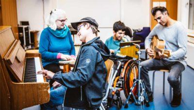 Musiktherapie für Kinder mit Handicaps