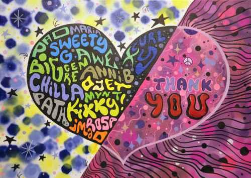 Schwerstkranke Kinder 2019 Woldenhorn Graffity - Danke