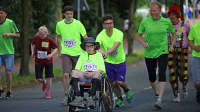 Special Olympics Lauf - Kinderstiftung