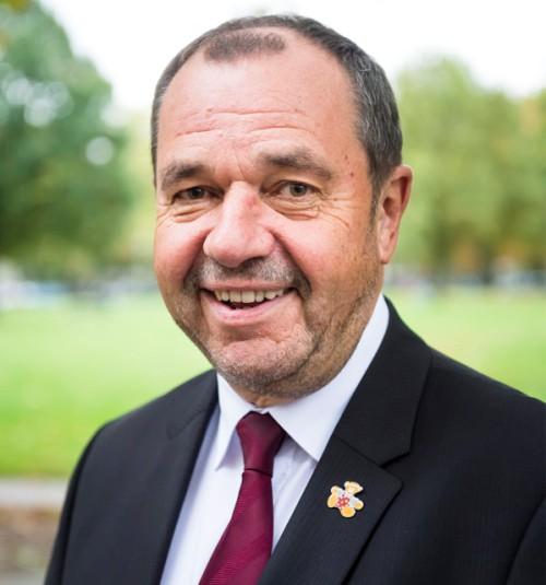 Gerd-Ulrich Hartmann - Vorstand der Kinderstiftung