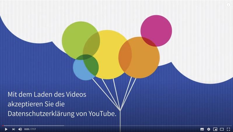 2-Klicks zum Kroschke Film auf YouTube