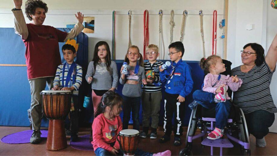 Musiktherapie im Kindergarten Hasenwinkel