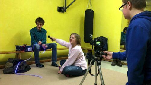 Peter-Räuber-Schule - Schüler:innen für Kultur begeistern - Film und Interview