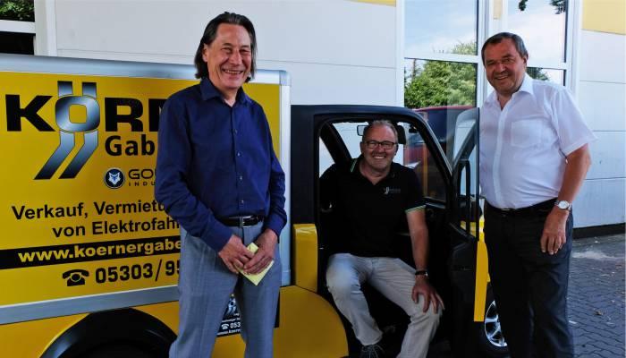 Spender Karsten Körner und Kurt Frobel
